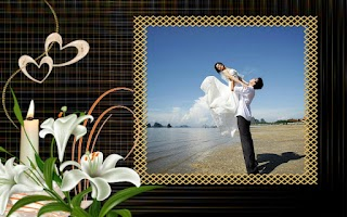 Screenshot of Wedding Photo Frame