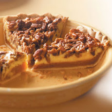 Caramel-Pecan Cheesecake Pie Recipe