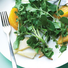 Watercress Salad with Manchego and Orange