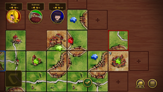 Carcassonne Screenshot