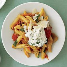 End of Summer Penne alla Norma