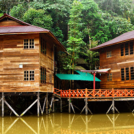 Wooden Chalet by Mohamad Hafizuddin - Buildings & Architecture Other Exteriors