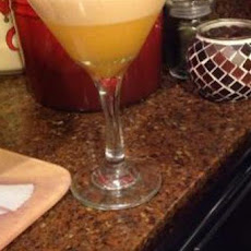 Orange Creamsicle Martini (Low Calorie!)