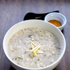 Ginger And Cilantro Congee