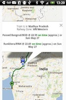 Screenshot of India Rail - One Stop App.