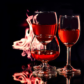 Inferno inside by Rakesh Syal - Food & Drink Alcohol & Drinks (  )