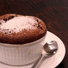 Eggless Chocolate Souffle