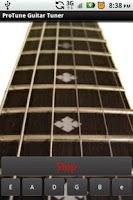 Screenshot of ProTune Guitar Tuner Free