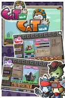Screenshot of Cat War