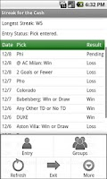 Screenshot of Streak for the Cash