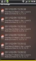 Screenshot of Hundred Pushups Free
