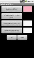 Screenshot of Calculator Widget Lite