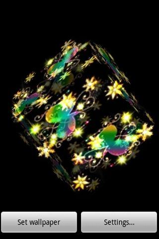3D 可愛い星