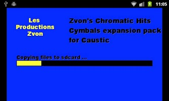 Screenshot of Chromatic Hits 3 - Cymbals