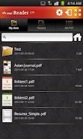 Screenshot of ezPDF Reader Lite for PDF View