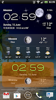 Screenshot of Weather Now (widgets, live wp)