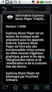 French Language - Euphony MP - screenshot