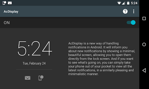 Acdisplay   Android Apps On Google Play