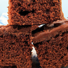Chocolate Sour Cream Snack Cake
