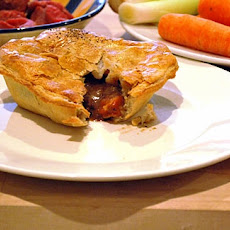Steak and Guinness pie