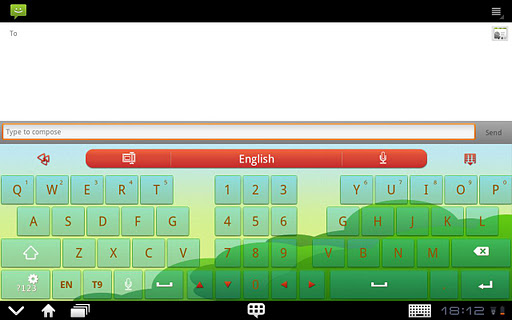 go-keyboard-littleredcap-pad for android screenshot