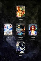 Screenshot of Crystal Wind Oracle Cards