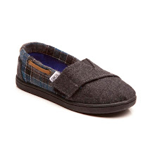 Toms Blue Tartan SHOES