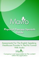 Screenshot of Physical Therapy Spanish