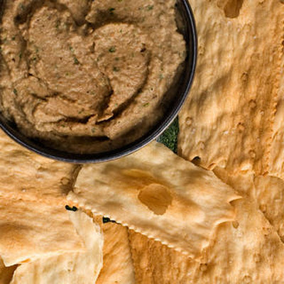 Roasted Eggplant and Walnut Dip