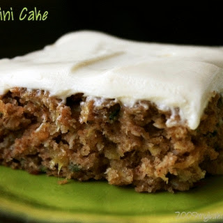 Zucchini Cake With Crushed Pineapple Recipes