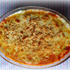 Macaroni, Cheese and Tomato Bake