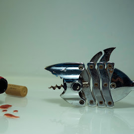 wine shark by Constantin Gabriel Bogdan - Abstract Macro (  )