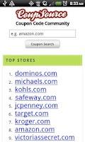Screenshot of Clothing Coupons Fashion Deals