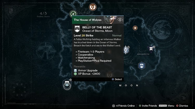 New House Of Wolves leak shows a Reef social hub for Destiny