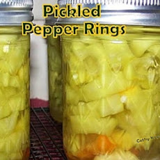 Pickled Pepper Rings