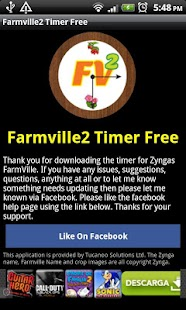 Screenshots  Farmville 2 Timer Free
