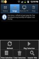 Screenshot of Home Media Controller