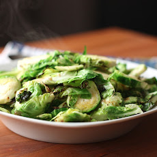 Smoky Buttered Brussels Sprouts