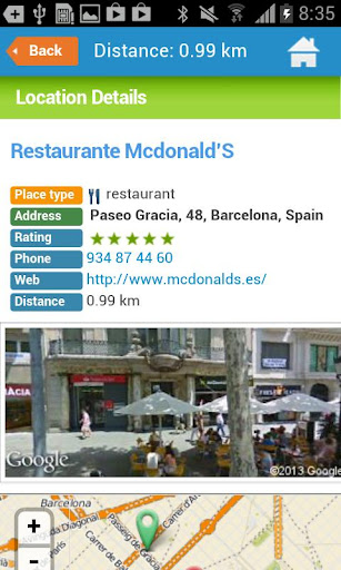 Download android app barcelona guide weather hotels for samsung