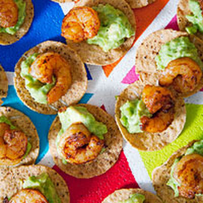 Shrimp and Guacamole Lightning Rounds