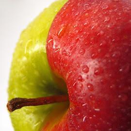 Healthy Choice by Janet Herman - Food & Drink Fruits & Vegetables ( red apple, fruit, apple, food, healthy, green apple )