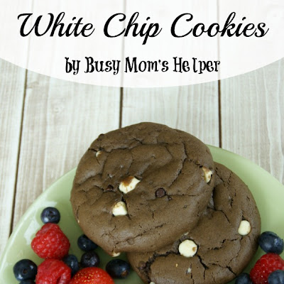 Healthier Chocolate White Chip Cookies