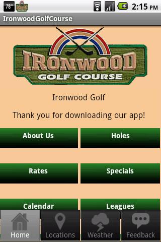 Ironwood Golf Course