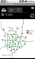 Screenshot of Twin Cities Traffic & Camera