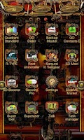 Screenshot of Steampunk Go Launcher Ex Theme