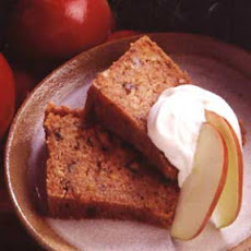 Apple Cake with Buttermilk Sauce