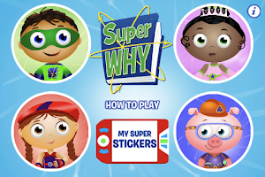 Screenshot of Super Why! from PBS KIDS