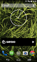 Screenshot of Gaydio