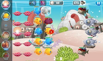 Screenshot of Fish vs Pirates