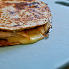 Turkey, Brie & Cranberry Quesadilla